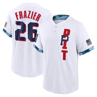 Men's Adam Frazier Pittsburgh White Game 2021 All-Star Replica Baseball Jersey (Unsigned No Brands/Logos)